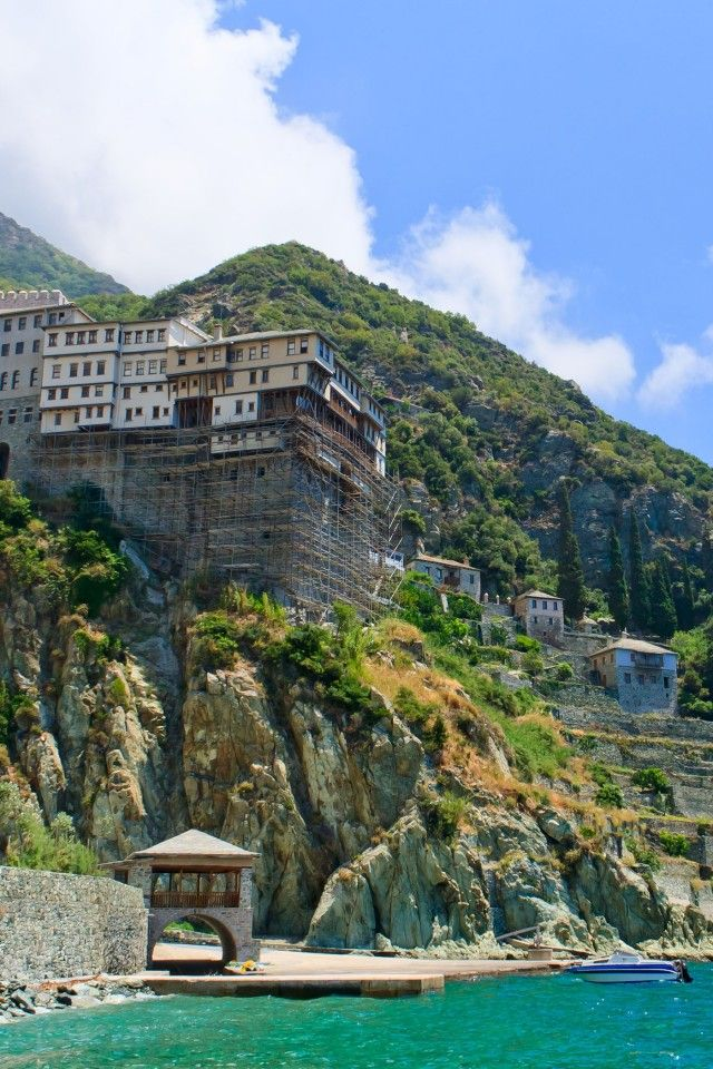 Mount Athos   Dionisiou Monastery Mount Athos, Greece