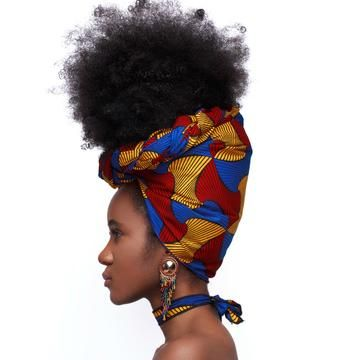 Tinashe Silk Lined Headwrap – Head Wraps   – African stylings