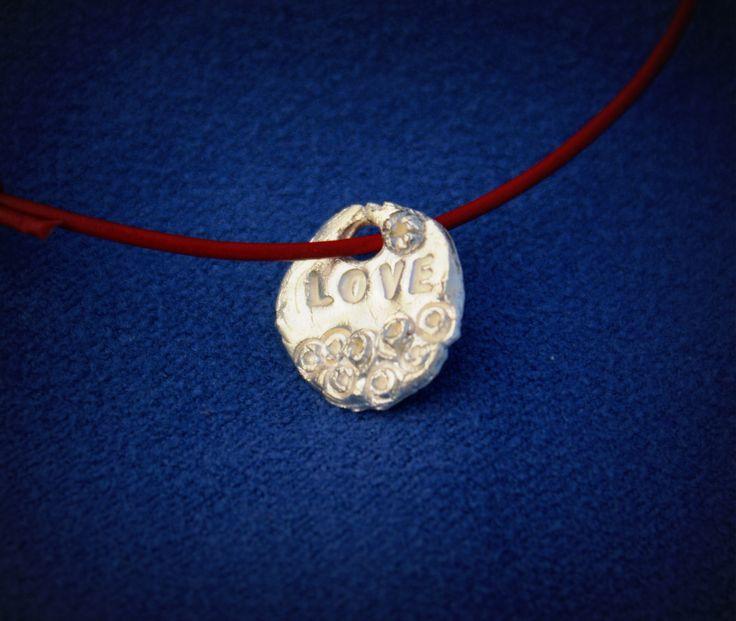 bracelet charm silver clay