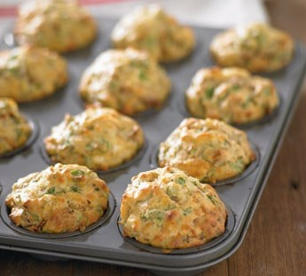 Healthy Spinach & Feta Muffins (I'm not sold on this idea, but I'm a sucker for feta)