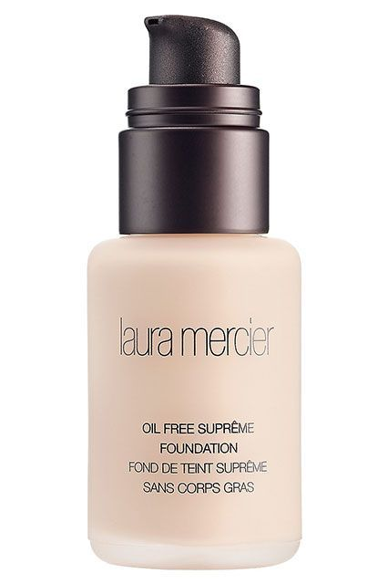 The Best Matte Foundations That Won't Dry Out Your Skin #refinery29  http://www.refinery29.com/hydrating-matte-foundation-makeup#slide-5  This demi-matte foundation contains green tea extract and vitamins A and E to moisturize and fight free radicals, which makes it a great option for those with combination skin that veers on the dryer side. If you're very oily, that doesn't mean you can't wear this — just dust a bit of powder over your T-zone and you're good to go. Laura Mercier Oil Free…
