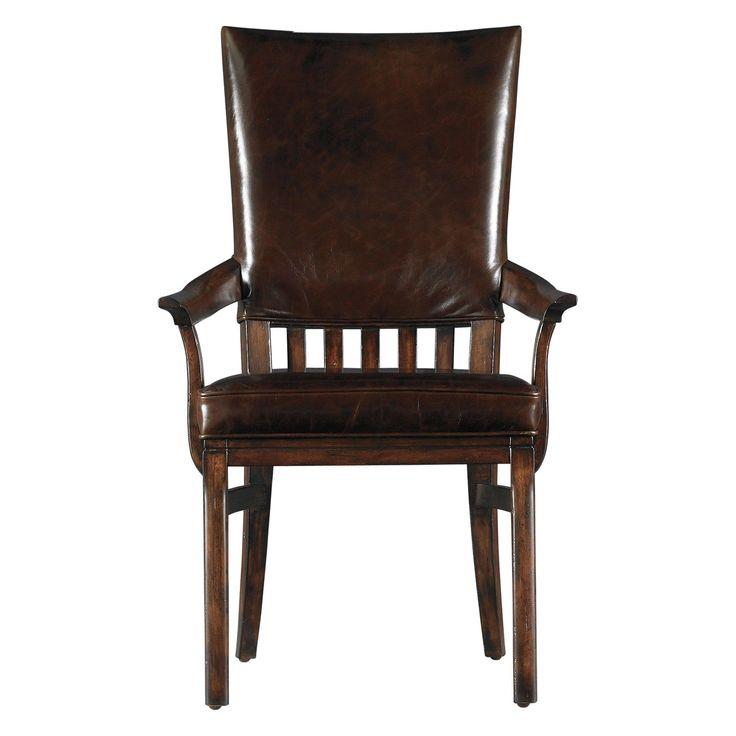 Stanley Furniture 955 Modern Craftsman Morris School Side Chair (Set Of