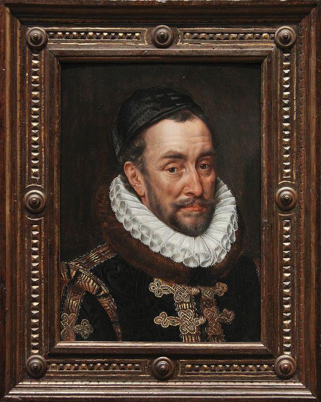 William I, Prince of Orange, Adriaen Thomasz Key, c.1579 | da Kotomi_