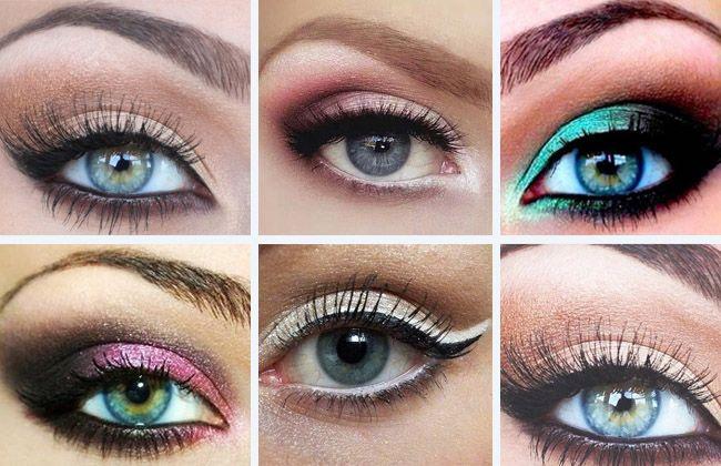 Comment maquiller ses yeux bleus