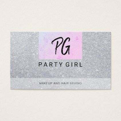 20 best hair stylist business cards images on pinterest hair makeup and hair faux glitter business card reheart Images