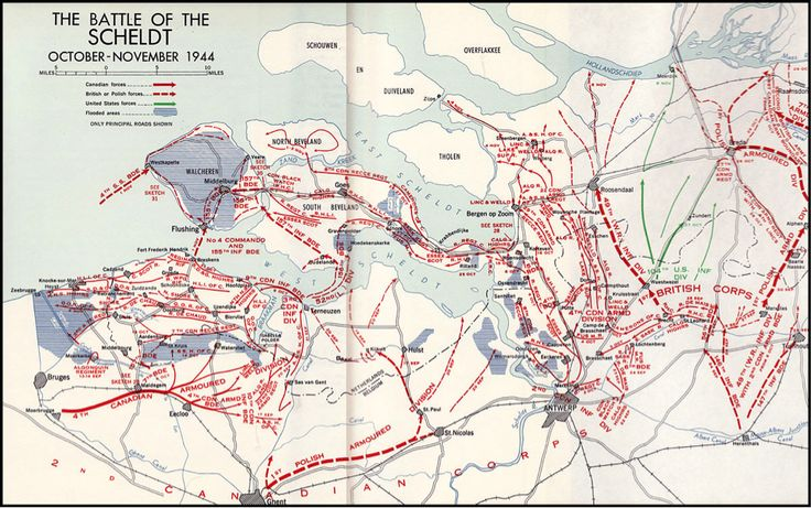 The Battle of the Scheldt  October -November 194