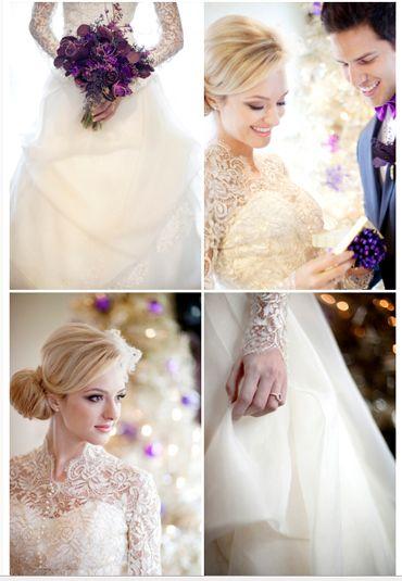 website with many winter wedding ideas