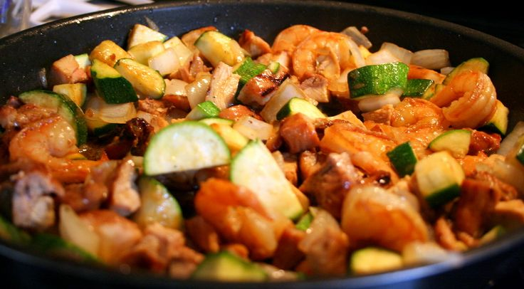 Hibachi Chicken and shrimp - oh my...kanki at home!  This was VERY yummy and super EASY!!!  Yummmmm
