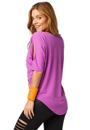 Zumba Party Cold Shoulder Top | Zumba Wear Save 10% on Zumba® wear on zumba.com with code 10SALE. Click to shop with 10% discount http://www.zumba.com/en-US/store/US/affiliate?affil=10sale
