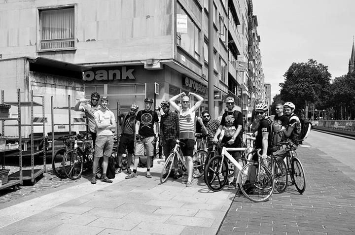 """We linked up with some awesome Belgian dudes and sponsored their recent 'Kat in de Zak' alleycat in Antwerp, and as they would say """"to put the fun in between your legs"""". Check out a bunch of great pics just here -http://ow.ly/mqiaZ"""