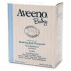 Aveeno Baby Bath Treatment Soothing 3.75OZ (Pack of 18), New