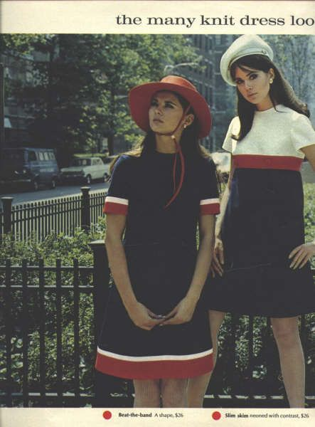1968 fashion - Why oh why aren't any designers making dresses like this?
