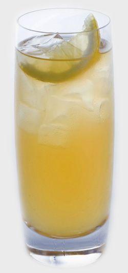 Irish Gold Cocktail - St. Patrick's Day - orange juice, ginger ale, Peach Schnapps, Tullamore Dew Irish Whiskey.