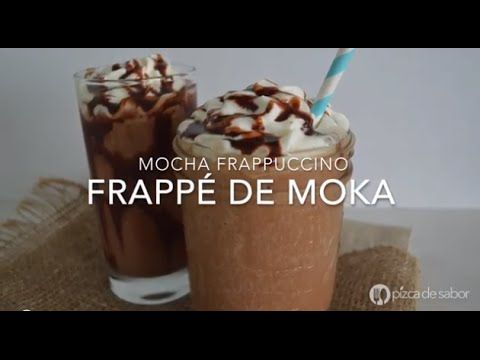 Frappe de moka o mocha frappuccino (fácil y rápido)