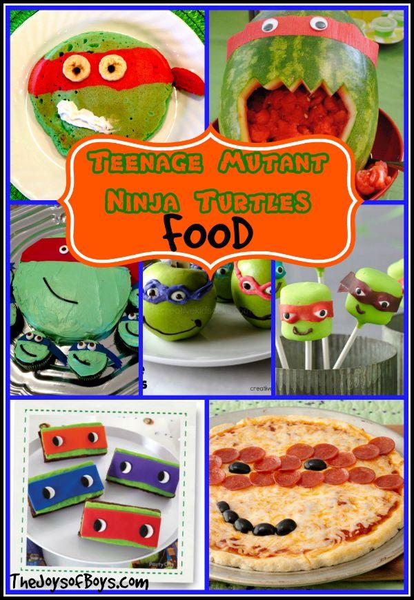 Teenage Mutant Ninja Turtles Food - The Joys of Boys