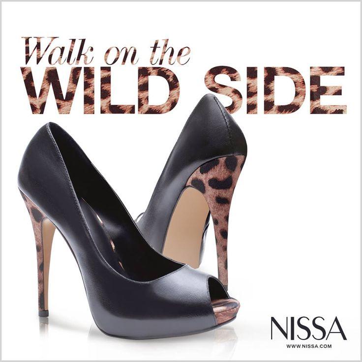 www.nissa.com  #nissa #shoes #footwear #heels #print #animal #walk #wild #accessorie #bold #cool #fashion #fashionista #style