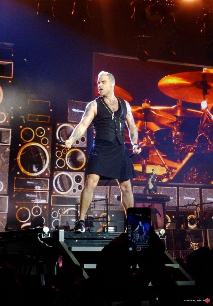 Photos : Robbie Williams « Let Me Entertain You Tour » @ Paris (30.03.2015) | Thibaud Tour