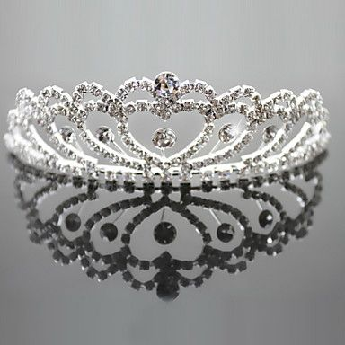 Beauty  Alloy Bridal Tiaras with Rhinestone – USD $ 19.99