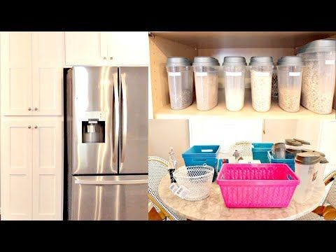 SPRING CLEAN WITH ME | DOLLAR TREE PANTRY ORGANIZATION IDEAS 2018 – YouTube