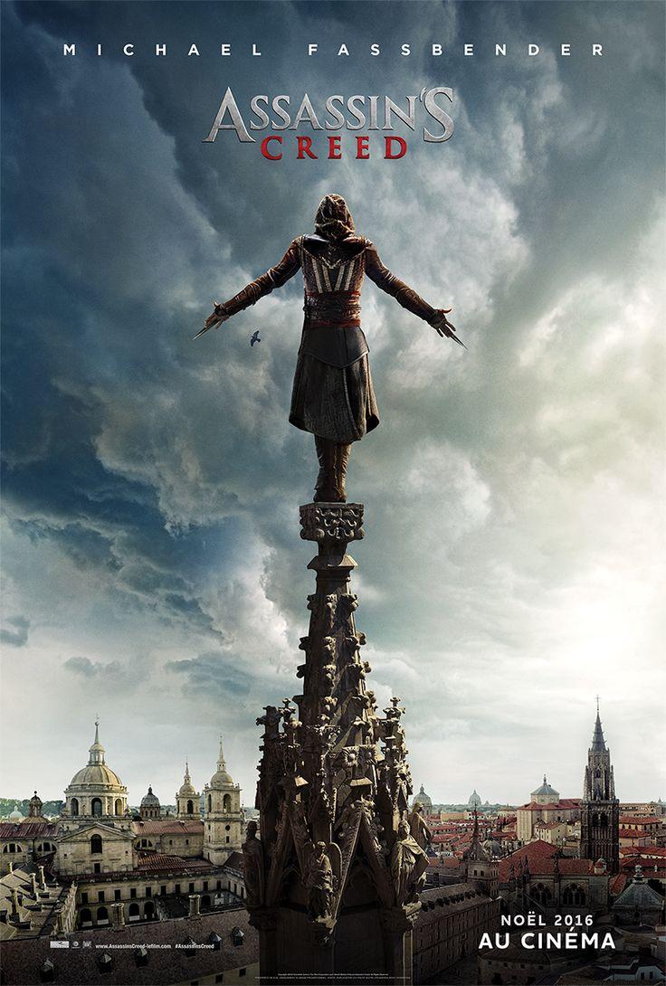 Assassin's Creed : Fassbender se prépare au saut de la Foi sur une nouvelle affiche vertigineuse ! - News films Vu sur le web - AlloCiné