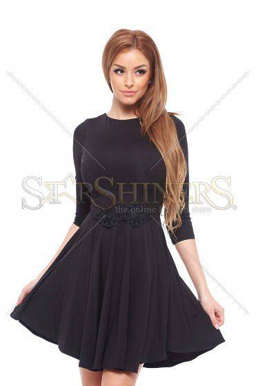 Artista Passionate Black Dress