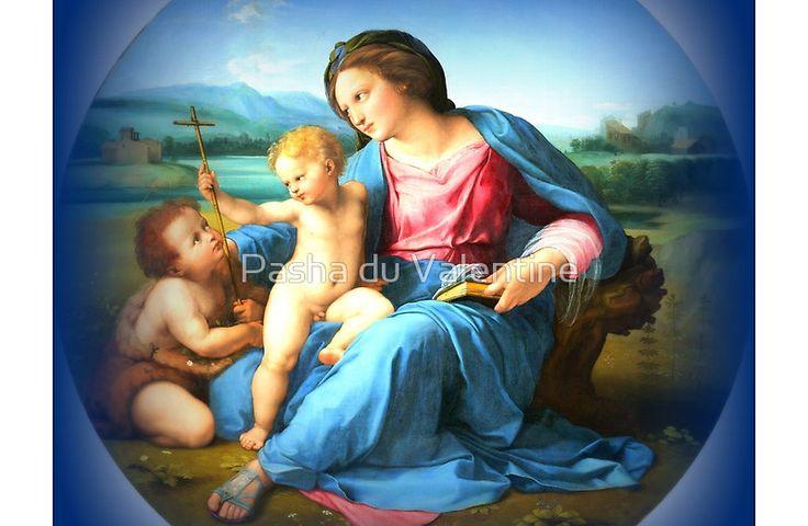 Goddamn Media Reproduction of The Alba Madonna by Raphael