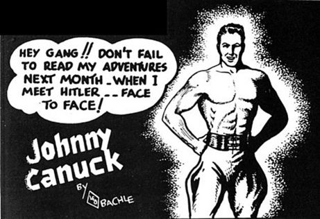 "To save money, the Canadian government barred all non-essential American products from entering Canada, including comic books. The Canadian publishing industry could not afford colour printing, so they published black-and-white comic books which became known as ""Canadian whites."" Canadian comic book heroes included Johnny Canuck."