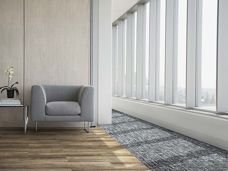 Inspired by some of our favorite natural elements, the Level Set collection offers sleek, sophisticated flooring designs. Pair your favorite modular carpet styles with this resilient flooring to create beautiful interior designs for your next office, hotel, commercial space or education area project.