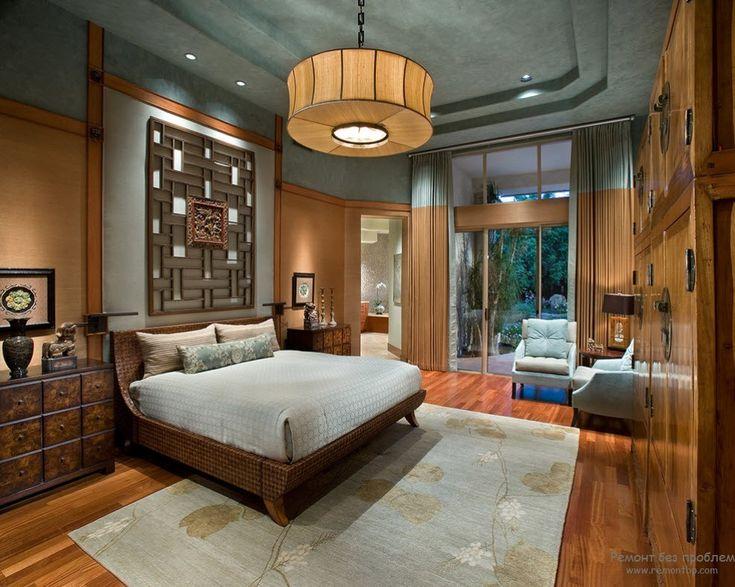 Спальная комната в китайском стиле