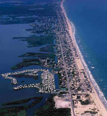 Sandbridge, VA - between VA Beach and the Outer Banks