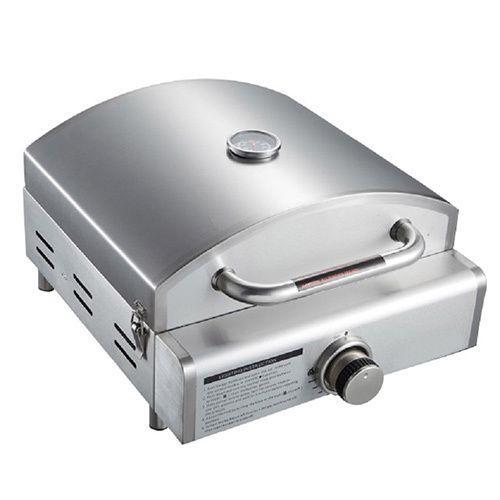 Mont Alpi Portable Propane 3-in-1 Pizza Oven Grill