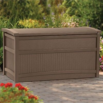 50 Gallon Deck Box - Sheds & Storage - Suncast® Corporation
