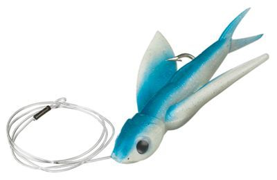 Carolina Lures Yummee Delta Wing Rigged Trolling Lures - Pearl/Blue - 7""