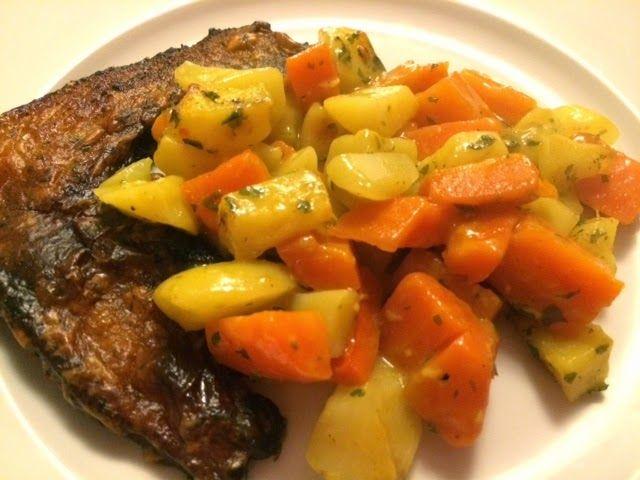 Lekker+eten+met+Marlon:+Winterpeen+en+aardappelen+met+een+zelfgemaakte+cur...
