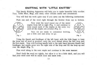 Knitting Mushroom Instructions.  3.