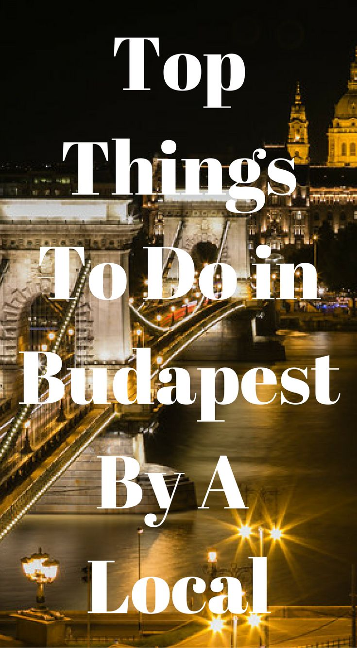 Top things to do in Budapest By a local. There are a hundred exciting things to do in Budapest– some of them are popular among a lot of tourists, and some of them are rather underground. We spent 4 days in the city and quite frankly, it's nowhere near enough. Click to read more at http://www.divergenttravelers.com/things-to-do-in-budapest/