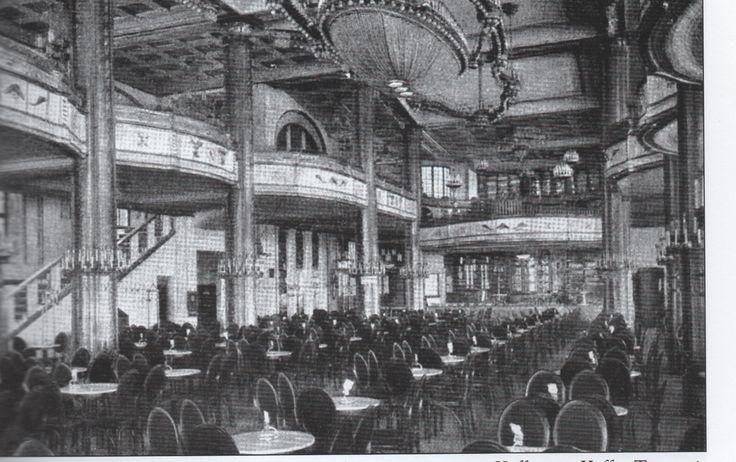 Kaffee-Tauenzientpalast, Nürnberger Straße, Berlin, um 1920.