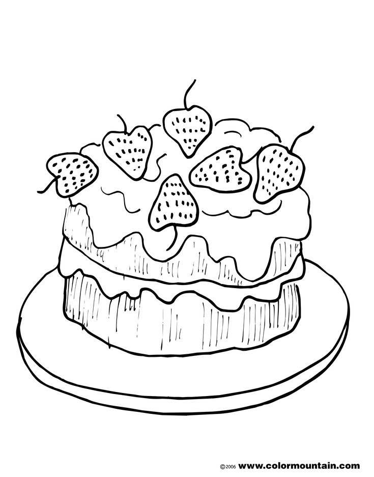 42 best Strawberry Coloring Pages