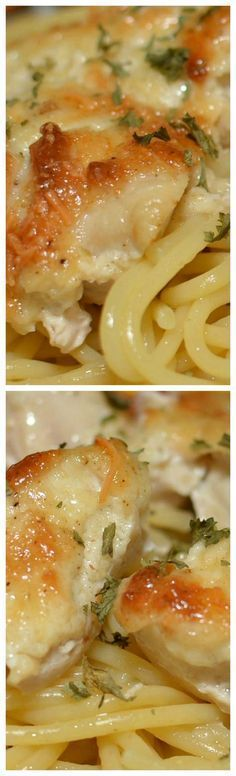 Parmesan Chicken Casserole ~ The BEST... The flavor was amazing, and the chicken was incredibly moist.