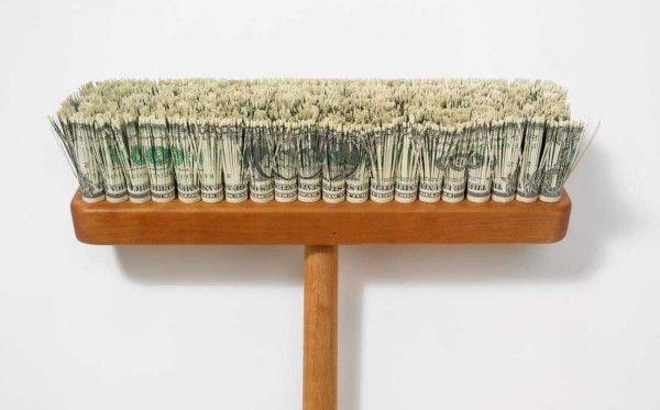 money broom