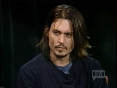 Johnny Depp ~ If you enjoy more than his pretty face, here's an excellent interview!  Well worth your time.
