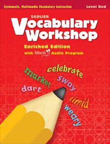 Vocabulary Workshop,  Enriched Edition ©2012–13