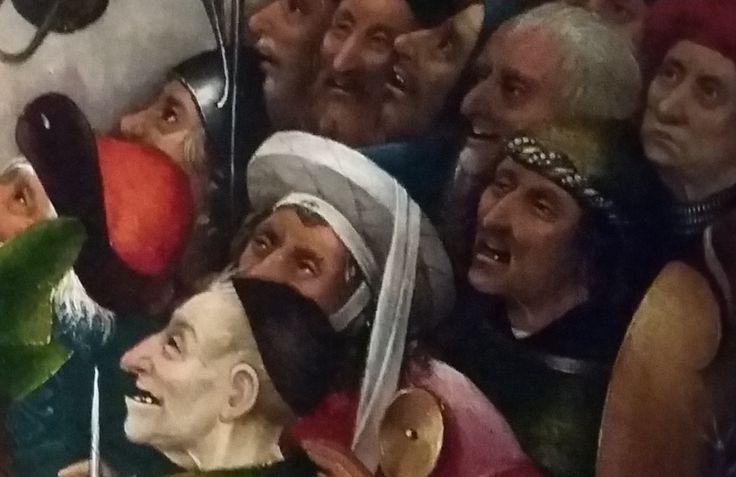 """Jérôme Bosch """"Ecce Homo"""" - Les scènes d'horreur ou de sexe, tout comme les monstres et les personnages du peintre néerlandais effraient et fascinent encore, 500 ans après sa mort."""