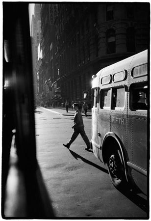 From the Bus, NY, 1958, Robert Frank