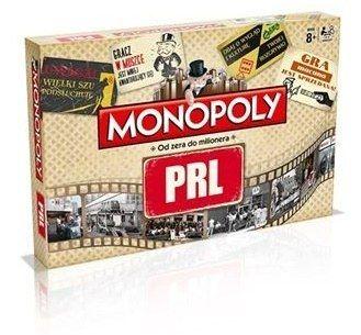 Monopoly PRL to tradycyjna gra planszowa w nowej odsłonie, gratka dla fanów niezapomnianego okresu PRL. #graplanszowa