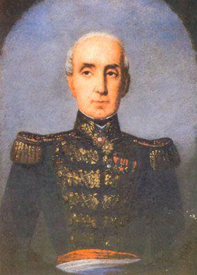 Manuel Blanco Encalada, jefe de la expedición.