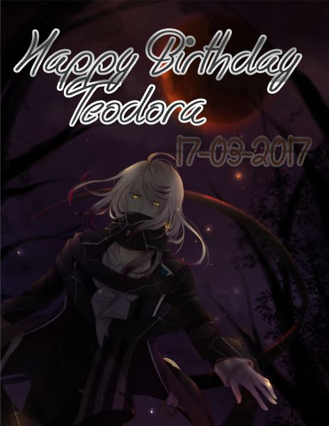 Happy Birthday Teodora!