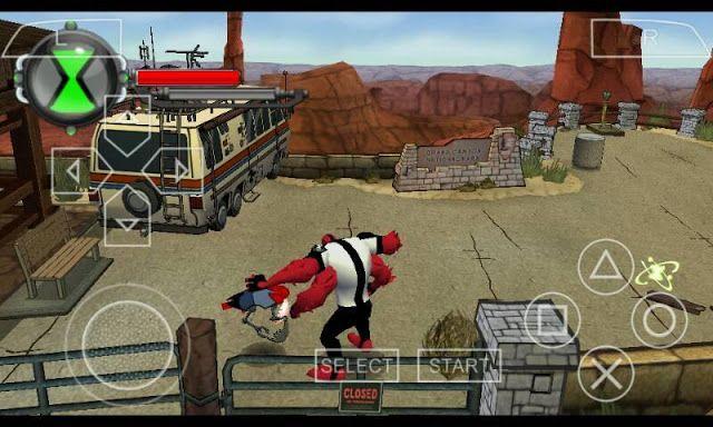 تحميل لعبة Ben10 Ultimate Alien V2019 للاندرويد بحجم صغير Ppsspp Ben 10 Psp Games