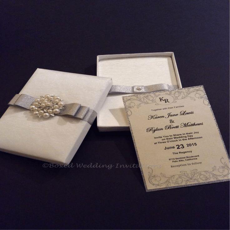 Luxury boxed wedding invitations and stationery We
