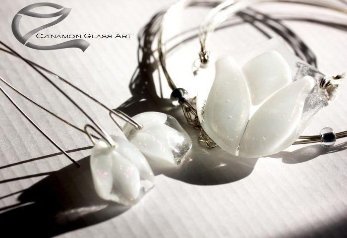 hEsküvő üvegékszer, hofeher-tulipan-uvegmedal-2o-small